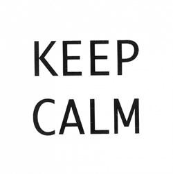 AD/A168/1146T Декор Итон Keep calm 9,9х9,9х7 - фото 18516
