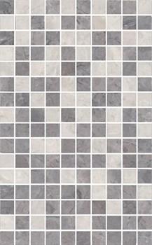 MM6268C Декор Мармион серый мозаичный 25х40х8 - фото 18570