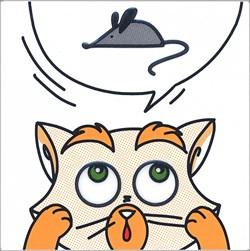 NT/A132/5009 Декор Кошки-Мышки  Мышка 20х20 - фото 20010