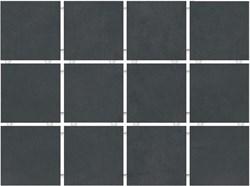 1291 Амальфи черный, полотно 30х40 из 12 частей 9,9х9,9 9,9х9,9х7 - фото 20103