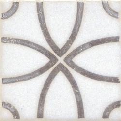 STG/A405/1266 Вставка Амальфи орнамент коричневый 9,9х9,9х7 - фото 20111