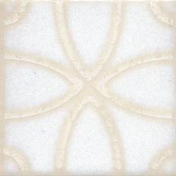 STG/B405/1266 Вставка Амальфи орнамент белый 9,9х9,9х7 - фото 20119