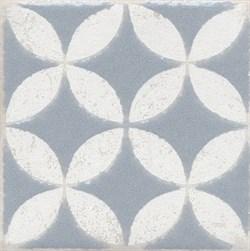 STG/C401/1270 Вставка Амальфи орнамент серый 9,9х9,9х7 - фото 20123