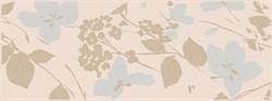 MLD/B67/15084 Декор Вилланелла Цветы беж 15х40х8 - фото 20218