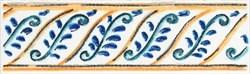 STG/A462/5232 Бордюр Капри майолика 20х6,3х6,9 - фото 20298