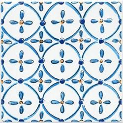 STG/A450/5232 Декор Капри майолика 20х20х6,9 - фото 20303