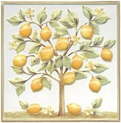 TLA001 Декор Капри Лимонное дерево 20х20х7 - фото 20318