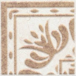 AD/A255/6276 Вставка Лаурито орнамент 7,7х7,7х8 - фото 20328