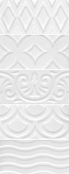 16017 Авеллино белый структура mix 7,4х15х6,9 - фото 22076