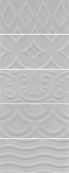 16018 Авеллино серый структура mix 7,4х15х6,9 - фото 22077
