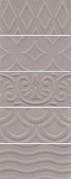 16019 Авеллино коричневый структура mix 7,4х15х6,9 - фото 22078