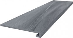 DL500500R/GCF Ступень клееная Роверелла серый 33х119,5х11 - фото 28071