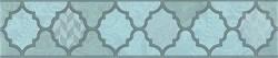 OP/A27/6331 Бордюр Фоскари бирюзовый 25х5,4х8 - фото 30568