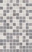 MM6268C Декор Мармион серый мозаичный 25х40х8