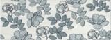 STG/B182/15016 Декор Ньюпорт Цветы зеленый 15х40х8