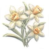 TFA011 Декор Оранжерея Нарциссы 9,9х9,9х7