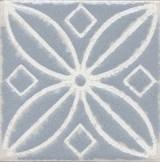 STG/C402/1270 Вставка Амальфи орнамент серый 9,9х9,9х7