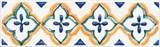 STG/A495/1146 Бордюр Капри майолика 9,9х3х7