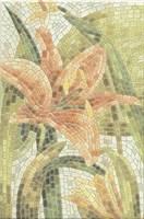 HGD/A143/880L Декор Летний сад Лилии лаппатированный 20х30х6,9