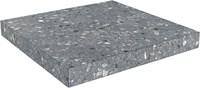 SG632800R/GCA Ступень угловая клееная Терраццо серый темный 33х33х11