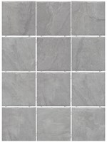 1299 Дегре серый, полотно 30х40 из 12 частей 9,9х9,9 9,9х9,9х7