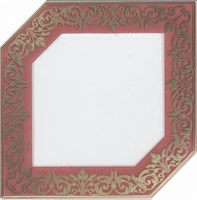 HGD/B250/18000 Декор Клемансо розовый 15х15х6,9