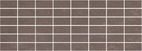 MM15111 Декор Орсэ коричневый мозаичный 15х40х8