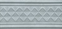 LAA004 Бордюр Пикарди структура голубой 15х6,7х10