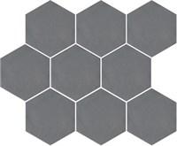 SG1002N Тюрен серый темный, полотно 37х31 из 9 частей 12х10,4 12х10,4х7