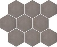 SG1005N Тюрен коричневый, полотно 37х31 из 9 частей 12х10,4 12х10,4х7