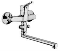 Смеситель хром Paini Bios 05CR119LMKM для ванны