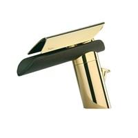 Смеситель золотой Paini Morgana 73OP211LZKM для раковины