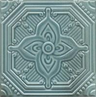 SSA004 Декор Салинас лазурный 15х15
