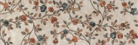 VT/A26/13083R Декор Гран-Виа цветы обрезной 30х89,5