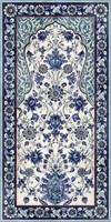 VT/A22/SG5918R Декор Орнамент синий обрезной 119,5х238,5