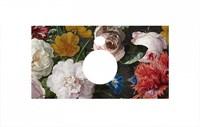 PL1.VT95\80 Спец. изделие для накладных раковин 80 см Парк Роз (Флауэрс)