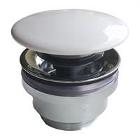DR.1/WHT Донный клапан с керамической крышкой