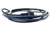 DEFROST WATER KIT 25м Комплект саморегулирующегося нагревательного кабеля (внутрь трубы) с евророзеткой с заземлением