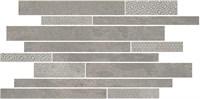 SBM010/SG4584 Декор Ламелла серый мозаичный 50,2x25x9,5