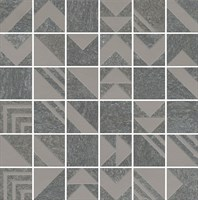 SBM014/DD2040 Декор Про Нордик антрацит мозаичный 30x30x11