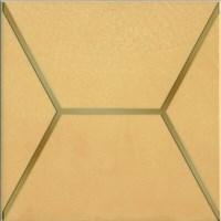 OP/B181/17064 Декор Витраж желтый 15x15x6,9