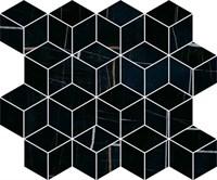 T017/14026 Декор Греппи черный мозаичный 45x37,5x10