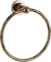 3880 Держатель для полотенца кольцо Aquanet, латунь (189262)
