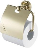 4686 Держатель для туалетной бумаги закрытый Aquanet , золото (189285)