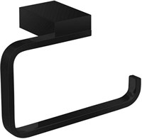 5686MB Держатель для туалетной бумаги открытый Aquanet, черн.мат (241905)