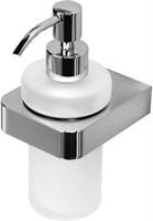 5781-1 Дозатор для мыла стекло с держателем Aquanet, хром (187076)