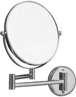 """8034 Косметическое зеркало 8""""?3 подвесное Aquanet, хром (195657)"""