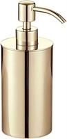 8189-GP Дозатор для мыла Aquanet, золото (202137)