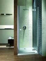 Душевые двери распашные Almatea DWJ 90/L арт. 31002-01-05N графит