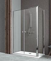 Двустворчатые распашные душевые двери EOS II DWD 100 арт. 3799492-01